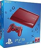 Console PS3 Ultra Slim 12 Go Rouge [Importación Francesa]