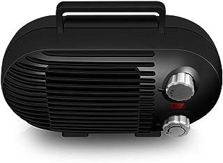 GXDHOME Calefactores Mini Calentador eléctrico, 3 Segundos PTC Calefacción rápida Casa portátil Oficina Ahorro de energía, Radiador de bajo Ruido (220V, 800W)