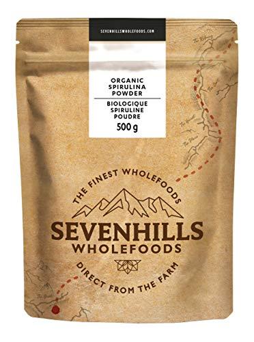 Sevenhills Wholefoods Espirulina En Polvo Orgánico 500g
