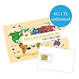 Japan SIM Card 3Days Unlimited Data/4G-LTE High-Speed Broad Coverage