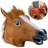 img_FONESO 馬マスク アニマルマスク ハロウィンや仮装大会に コスプレ いたずら