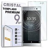 REY Protector de Pantalla para Sony Xperia XA2 / Sony Xperia XA 2, Cristal Vidrio Templado Premium