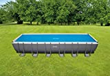Intex Solar Cover Pool - Solarabdeckplane - 732 x 366 cm - Für Rectangular Frame Pool