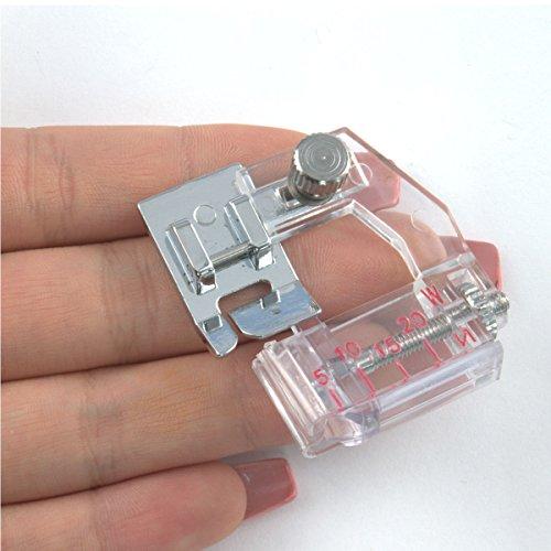 MACCHINA per cucire domestiche Clip On//Off Clip in Pelle Roller PIEDINO Scarpa