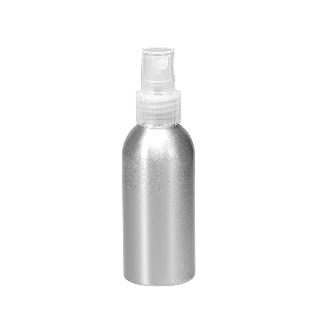櫛ミニチュア試用uxcell uxcell アルミスプレーボトル クリアファインミストスプレー付き 空の詰め替え式コンテナ トラベルボトル 3oz/100ml