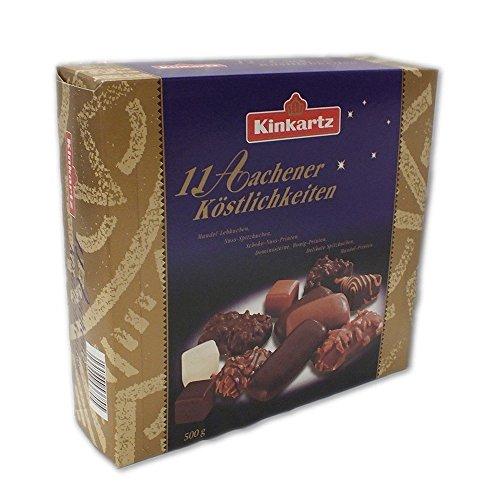 Kinkartz 11 Aachener Köstlichkeiten 500 Gramm Weihnachtliche Gebäck Spezialitäten