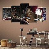 CELLYONE 5 Gemälde für Heimdekoration, Heimdekoration,