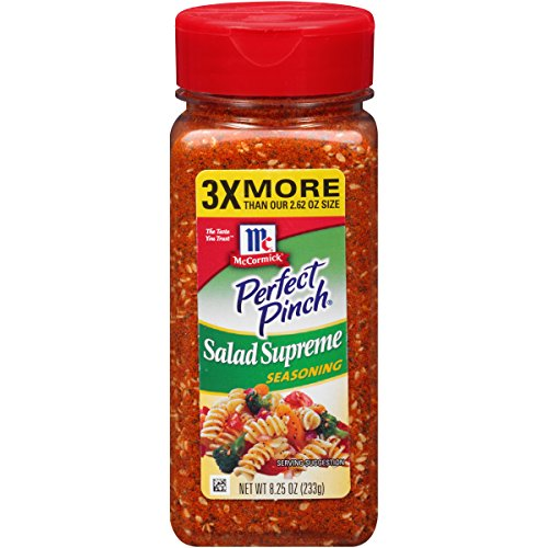 McCormick Salad Supreme Seasoning, 8.25 OZ (Pack of 1)