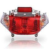 CLEO Tail Light Turn Signal, fits GY6 50cc Tao Tao, Shenke Chuanl Sunny SSR IceBear 49cc 50cc 125cc 150cc Scooter Moped