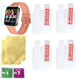 OCTelect screen protector for ZKCREATION Smart Watch Fitness Tracker 4PCS in one pack