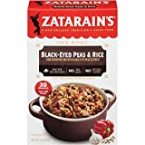 Zatarain's Black-Eyed Peas & Rice, 7 oz (Pack of 12)...