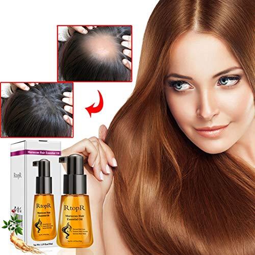 Maroc Argan Soin des Cheveux Essence Huile nourrissante réparation endommagé en Split Cheveux rugueux enlever Traitement Essence Oil 35 ml Yiitay