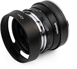 Pergear 35mm F1.6 カメラレンズ 富士フイルムXFマウントカメラ用 手動フォーカス 固定レンズ Fuji X-A1 X-A10 X-A2 X-A3 A-at X-M1 XM2 X-T1 X-T3 X-T10 X-T2 X- T2...