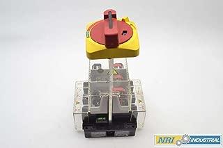 ALLEN BRADLEY 194R-NJ060P3 60A AMP 600V-AC 3P FUSIBLE DISCONNECT SWITCH B374992