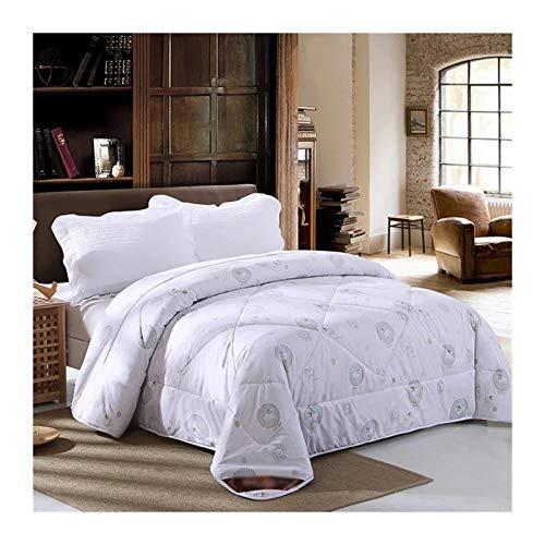 Will Daunenbett Einsatz Decke 200 * 230 Queen König Decken Schafe Vlies warmen Winters 220 * 240 (Color : White, Size : 200x230cm 3kg)