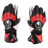 uhlsport Absolutgrip Gloves, Black, 12