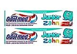 2x Odol med3 Junior Zahn 6+ Jahre, Milch und erstbleibende Zähne 50ml