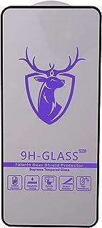 شاشة حماية زجاجية من الزجاج المقوى 2 في 1 اوبو ريلمي 6 من اورجينال - اسود