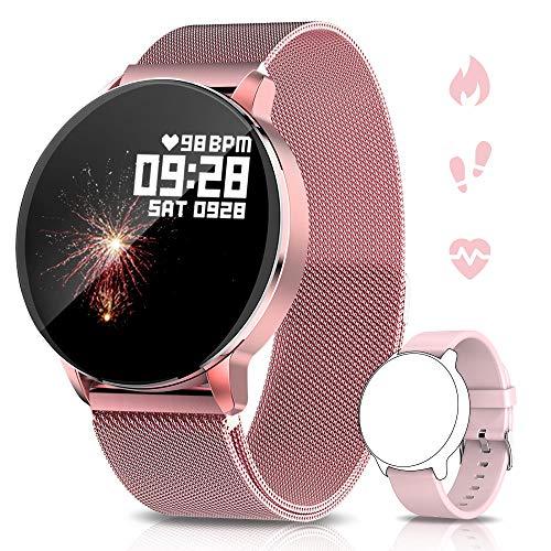 NAIXUES Smartwatch, Montre Connectée IP67 pour Femmes,...