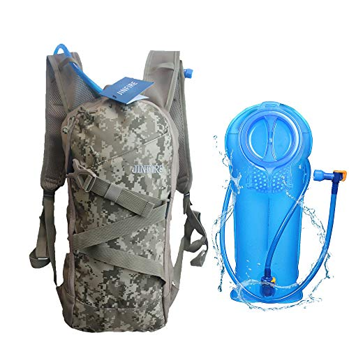 JINFIRE Hydration Pack Water Backpack with 2L Water Bladder for Running Cycling Hiking Climbing