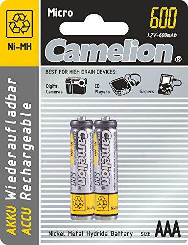 Oferta de NIMH AAA/LR3 1.2V-600MAH 2/Carte REMPLACE R03NM
