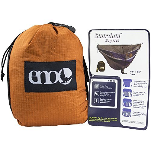 Product Image 1: ENO, Eagles Nest Outfitters Guardian Bug Net, Hammock Bug Netting