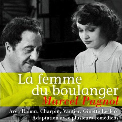 La femme du boulanger audiobook cover art
