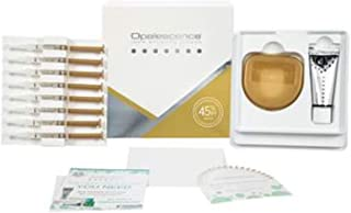 Opalescence PF Patient Kit 45%, Mint - 8 Syringes, 1 1oz Opalescence Toothpaste, 1 Paper Shade Guide, 1 Trays Case and instruction to use.