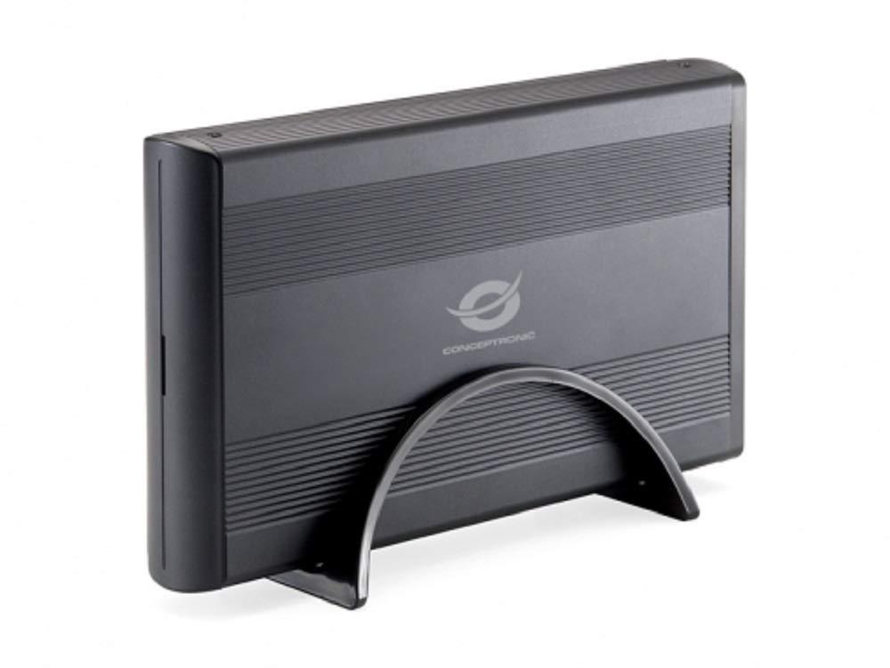 Conceptronic C20-300 Caja Disco Duro 3.5 Pulgadas USB 3.0, Negro ...