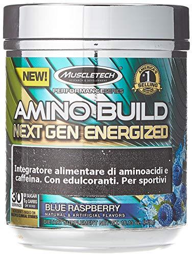 Muscletech Amino Build Next Gen Energized Aroma Blue Raspberry - 282 g