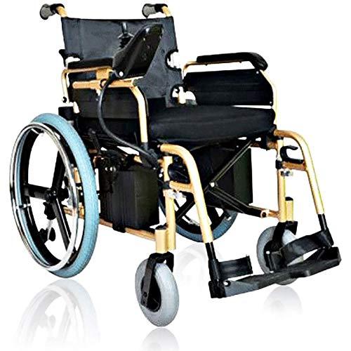 Möbeldekoration Multifunktionaler Rollstuhl Zusammenklappbar Tragbarer Intelligenter Elektrorollstuhl 360% Drehung Geeignet Für: Ältere Menschen/Behinderte
