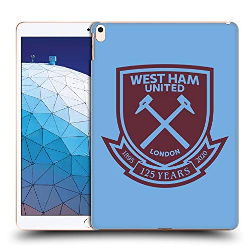Official West Ham United FC Claret Crest 2 125 Year Anniversary Hard Back Case Compatible for Apple iPad Air (2019)