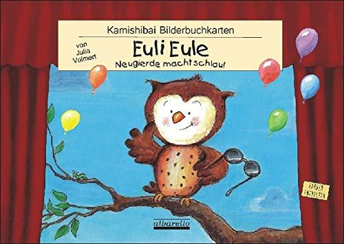 Euli Eule - 12 Bilderbuchkarten fürs Kamishibai im DIN A3 Format!: Für alle handelsüblichen Kamishibai-Tischtheater geeignet!