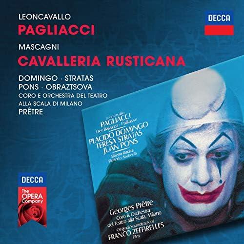 Plácido Domingo, Teresa Stratas, Elena Obraztsova, Juan Pons, Orchestra del Teatro alla Scala di Milano & Georges Prêtre