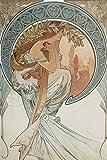 Artland Alte Meister Premium Wandbild Alfons Mucha Bilder