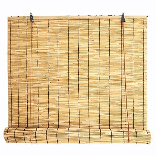 KDDFN Store Bambou Exterieur Stores en Paille Naturelle,Intérieur/Extérieur/Gardin/Fenêtre,Plusieurs Tailles
