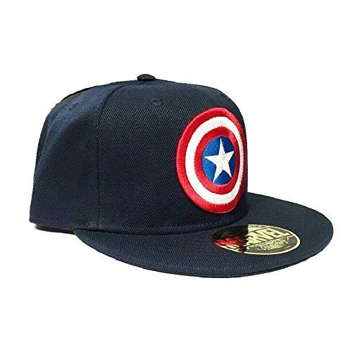 Marvel Captain America Baseball Cap (Snapback) Navy
