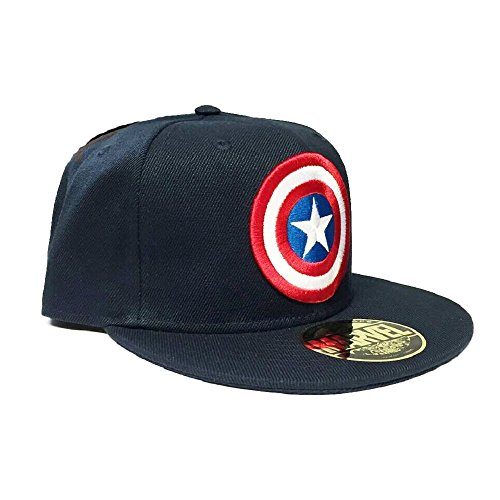 Marvel Captain America Baseball Cap (Snapback) Navy