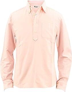 [SWEEP!! LosAngeles スウィープ ロサンゼルス] メンズ コットン オックスフォード カプリボタンダウンシャツ PULLOVER OXFORD PINK(ピンク)