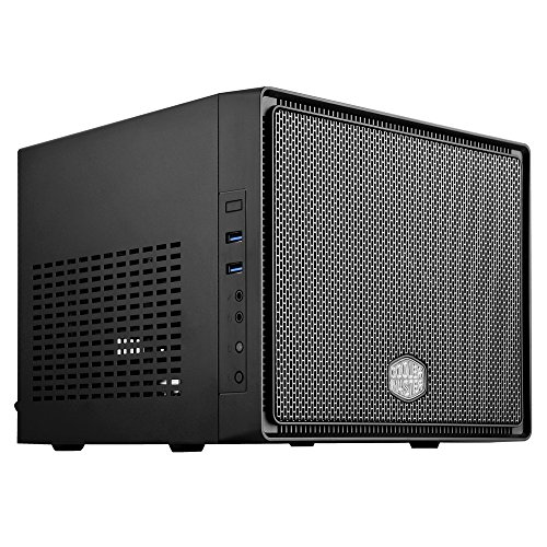 Cooler Master Elite 110 RC-110-KKN2 Midnight Black Steel/Plastic Mini-ITX Tower Computer Case