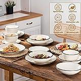 Vancasso Tafelservice Steingut, BONBON 24 teiliges Geschirrset, handbemaltes Kombiservice für 6 Personen, Vintage Aussehen - 9