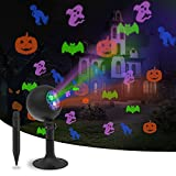 Halloween Lights Outdoor Decorations Projector Show LED Indoor Pumpkin Projection Outside Spotlight for Holiday House Yard Garden Party...