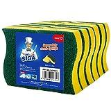 MR.SIGA éponge grattante multi-usage pour usage intensif. Dimensions 11 x...
