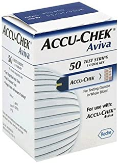 ACCU-CHEK Aviva Plus Test Strips, 50 Count