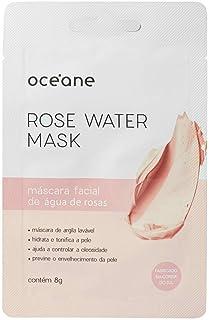 Rose Water Mask-Máscara Facial Água De Rosas./Unica, Océane