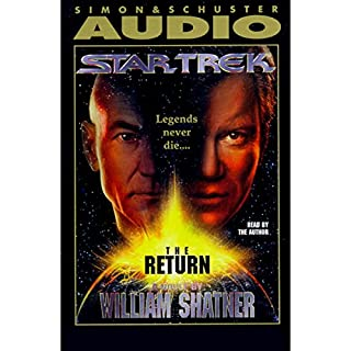 Star Trek: The Return (Adapted)                   By:                                                                                                                                 William Shatner                               Narrated by:                                                                                                                                 William Shatner                      Length: 3 hrs and 6 mins     453 ratings     Overall 4.3