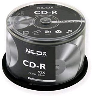 Nilox CD-R Compact Disc-Recordable