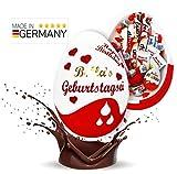 Schokofreunde Geschenke | personalisierte Schoko Box mit Ferrero Kinder Schokolade Mix | zum Geburtstag für Lieblingsmensch