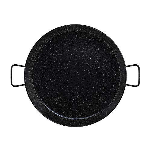 Metaltex - Paellera Acero Esmaltado 20 Raciones 60 cm