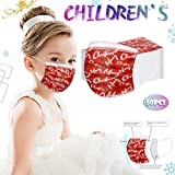 66adiso Christmas Disposable Face_Masks, 10Pcs Adults Reusable Cotton Face_Masks Mixed, Reusable Protective, Unisex Adjustable Reusable Cotton Cloth Face_Mask for Outdoor Gift for Women (A)